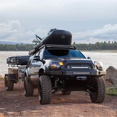 - Tacoma Trucks, Tips & Tricks - superschnelle Autos Lifted Tacoma, Toyota Tacoma 4x4, Tacoma Truck, Jeep Truck, Toyota 4runner, Toyota Tundra, Truck Camper, Overland Tacoma, Overland Truck