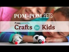 Transform ordinary pom-poms into adorable little pets with this fun and easy craft.
