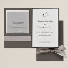 Stylish Duet Wedding Invitation | Wedding Invitations