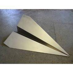 """Saatchi Art Artist Bruce Gray; Sculpture, """"Paper Plane Sculpture"""" #art"""