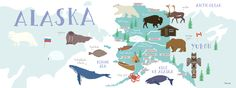 Wild Alaska by Rena Ortega