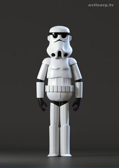 Evil Corp - Vinyl Toys Stormtroopers