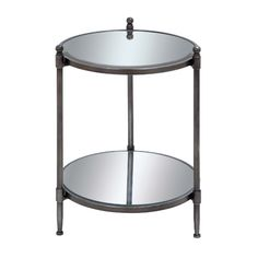 Found it at Joss & Main - Luca Mirrored End Table