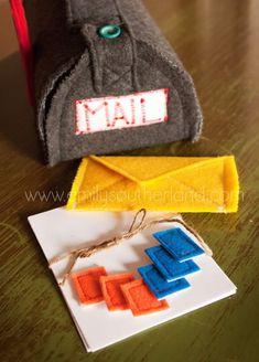 Felt Mail and Mailbox