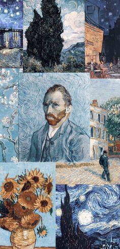 Van Gogh Art, Art Van, Aesthetic Drawing, Aesthetic Art, Van Gogh Wallpaper, Van Gogh Paintings, Pop Culture Art, Love Painting, Vincent Van Gogh