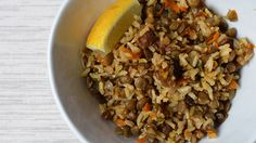 Just because this lentils with fennel dish is vegan and vegetarian doesn't mean it lacks flavor and fullness.