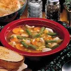 Basic Turkey Soup TURKEY BROTH:    1 leftover turkey carcass   8 cups water    1 teaspoon chicken bouillon granules   1 celery rib with leaves   1 small onion, halved   1 carrot    3 whole peppercorns    1 garlic clove    1 teaspoon seasoned salt    1 teaspoon dried thyme
