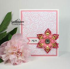 Letterpressed Mother's Day Card by Yvonne van de Grijp