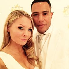 Kaitlin Doubleday and Trai Byers