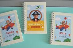 Los cuadernos personalizados Fabuloos Dreams, incluyen la foto y el nombre del protagonista! Son ideales oara escribir nuevas palabras, hacer dibujos, contar historias y sueños, listas....
