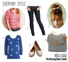 Everyday-Style in Nursing Moms Guide to Dressing Your Post Pregnancy Body for Breastfeeding