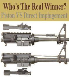 Piston Vs. Direct Gas Impingement Systems - Team AR-15
