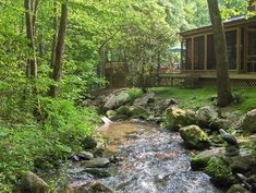 When I have my own house I want... No I will live by a creek!