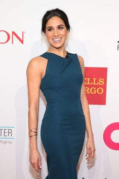 Meghan Markle Photos Photos - Model Meghan Markle attends the Elton John AIDS Foundation's 13th Annual An Enduring Vision Benefit at Cipriani Wall Street powered by CIROC Vodka on October 28, 2014 in New York City. - 13th Annual An Enduring Vision Benefit