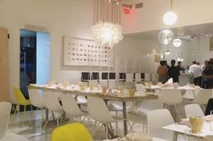 Abc Kitchen S Vegetarian Spinoff Abcv Will Finally Open. American Restaurant, Restaurant New York, Restaurant Design, Kitchen Logo, Kitchen New York, Merci Boutique, Merci Paris, Kid Friendly Restaurants, Kitchen Reviews