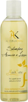 Alkemilla Eco Bio Cosmetic Shampoing Orange & Zeste de Citron - 250 ml