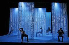 "Eric Levenson, let design, and Christopher Fournier, lighting design, ""Some Men"", SpeakEasy Stage"