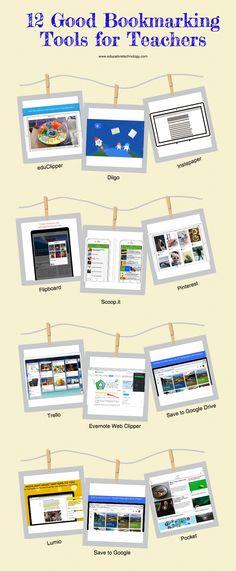 10 Good Bookmarking Tools for Teachers