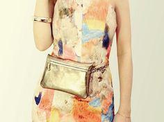 DIY-Tutorial: Multifunctional Leather Clutch sew via DaWanda.com