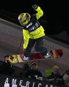 Gretchen Bleiler disputa a final do superpipe feminino em Aspen, pelo Winter X Games