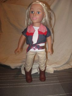 "Madame Alexander 18"" Doll COWGIRL WESTERN 2011 Blonde Hair/Blue Eyes * NICE * | Dolls & Bears, Dolls, By Brand, Company, Character | eBay!"