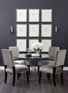 Clean Slate - Jennifer Dining Table http://www.highfashionhome.com/room-ideas/dining-room/clean-slate-1.html