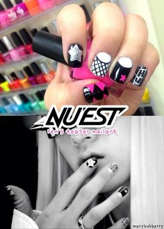 K,Pop nails , Nuest