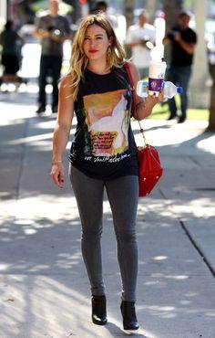 Best Dressed Hilary Duff T-Shirt | NYLON MAGAZINE