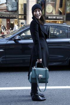 On the street in New York. [Photo by Thomas Iannaccone]