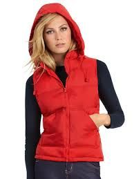 womens bodywarmer with hood - Google Search