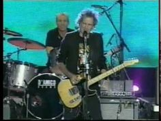 """""""Happy"""" - Sheryl Crow & Keith Richards - Central Park - 1999"""