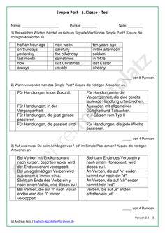 Present Perfect - Arbeitsblätter mit Lösungen - PDF und ...