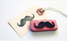 Moustache stamp!