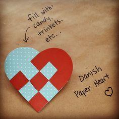 Danish paper hearts