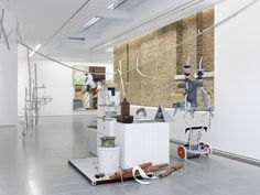 Helen Marten: Drunk Brown House; Installation View, Serpentine Sackler Gallery (29 September – 20 November 2016); Photo © Annik Wetter