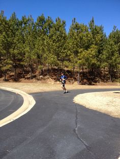 """College Tri - review of kigo drive. """"Right before finishing at the Cary Du Classic. Wearing my kigo drive shoes!"""""""
