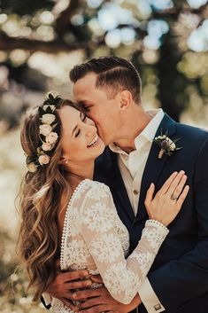 36 Couple Moments That Must Be Captured At Your Wedding ❤ wedding photo ideas couple moments must take tender kiss happy bride tessatadlock ❤ See more: http://www.weddingforward.com/wedding-photo-ideas-couple-moments-must-take/ #weddingforward #wedding #bride