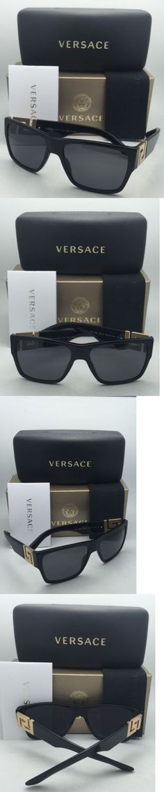 polarized sunglass lenses 5pi1  Other Vision Care: Polarized Versace Sunglasses Ve 4296 Gb1/81 59-16 Black