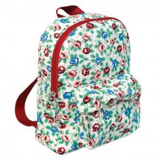 Rambling Rose Cotton Childrens Backpack