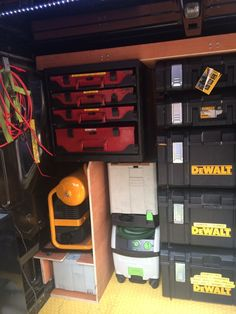 My tools and racking - Show Off Your DeWalt Tools - Tools in Action - Power Tool Forum