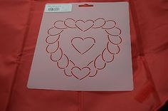 Stencil-Quilt-Art-NS71-Feather-Heart-Block-5-1-2