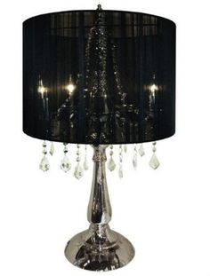 Chandelier Lamp From Urban Barn In Canada. The White Shade Looks Better  Than This Black