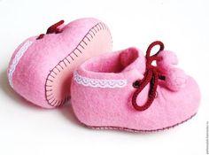 Валяные туфли для малышей.