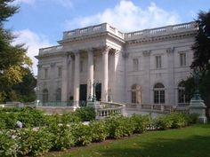 marble house gilded age home of the Vanderbilt's in Newport R.I.