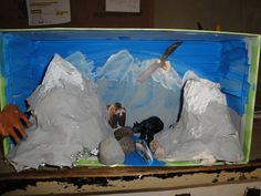 How to Make a Mountain Out of Paper Mache | Paper, Paper ...