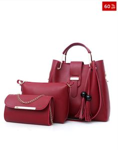 3f17202bc044 Women Handbags Leather Shoulder Bags Female Large Capacity Casual Tote Bag  Tassel Bucket Purses And Handbags Sac Femme