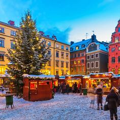 Market in Stockholm, Sweden! Christmas in Stockholm! Best Christmas Markets, Christmas Markets Europe, Christmas Shopping, Visit Stockholm, Stockholm Sweden, Stockholm Winter, Stockholm City, Places Around The World, Around The Worlds