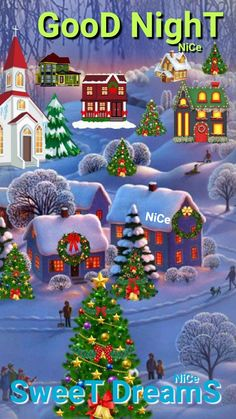 Solve Christmas scene jigsaw puzzle online with 66 pieces Merry Christmas Wallpaper, Merry Christmas Images, Noel Christmas, Vintage Christmas Cards, Christmas Pictures, Winter Christmas, Illustration Noel, Christmas Illustration, Christmas Scenery