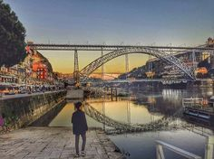 Porto is one of Europe's most fascinating but least known travel destinations. Its magnificent architecture and spectacular location overlooking the River Porto Portugal, Visit Portugal, Douro, City Break, Sydney Harbour Bridge, Lonely Planet, Travel Destinations, Tourism, Cruise