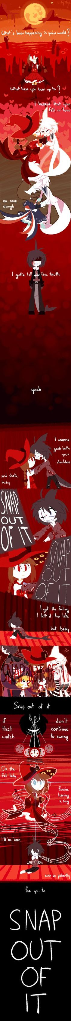 Snap out it it / Wadanohara Normal End 1(SPOILERS) by GrumpyBuneary.deviantart.com on @DeviantArt